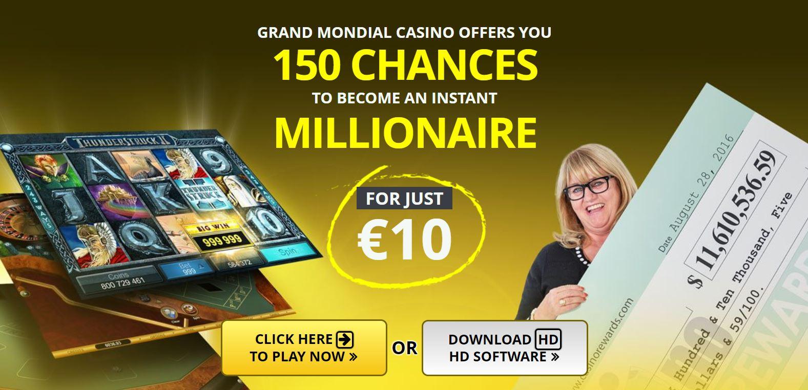 Grand Mondial Casino En Ligne